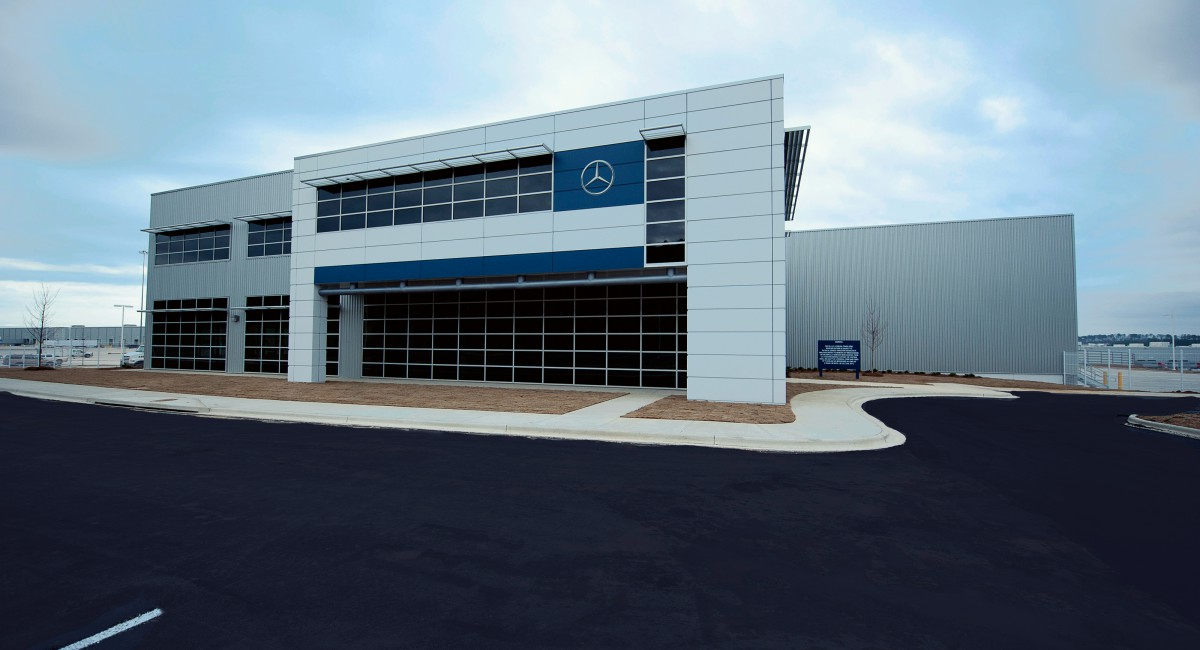 mercedes benz parts consolidation center bl harbert