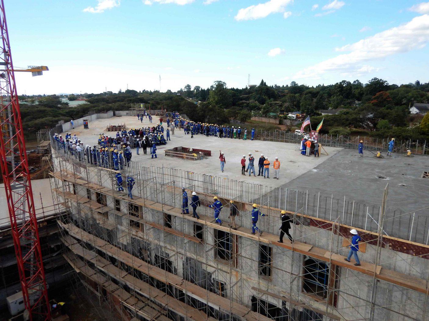 U S  Embassy Compound - Harare, Zimbabwe - BL Harbert